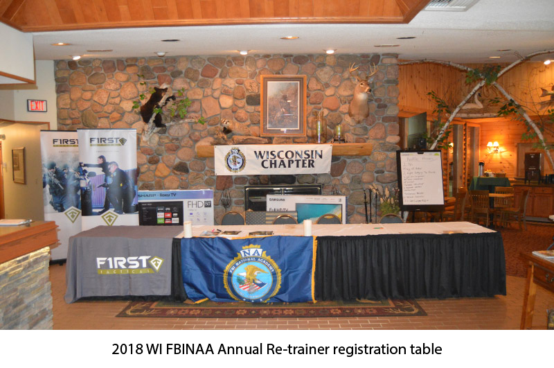 Wisconsin FBINAA 2018 Annual Retrainer